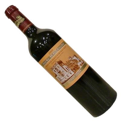 【ボルドーワイン】【赤ワイン】シャトー・デュクリュ・ボーカイユ 2009 [フランス][フルボディー]