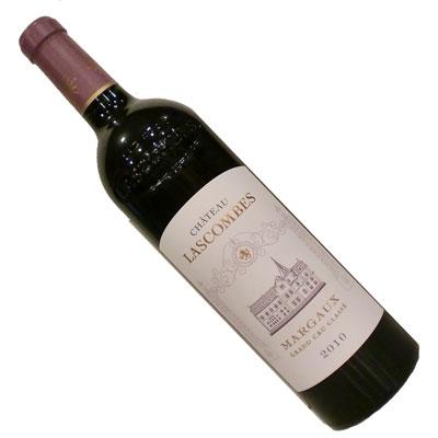 【ボルドーワイン】【赤ワイン】シャトー・ラスコンブ 2010[フランス][フルボディー]