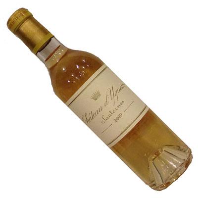 【フランスワイン】【白ワイン】【ボルドーワイン】シャトー・ディケム 2009 375ml[甘口][貴腐ワイン]