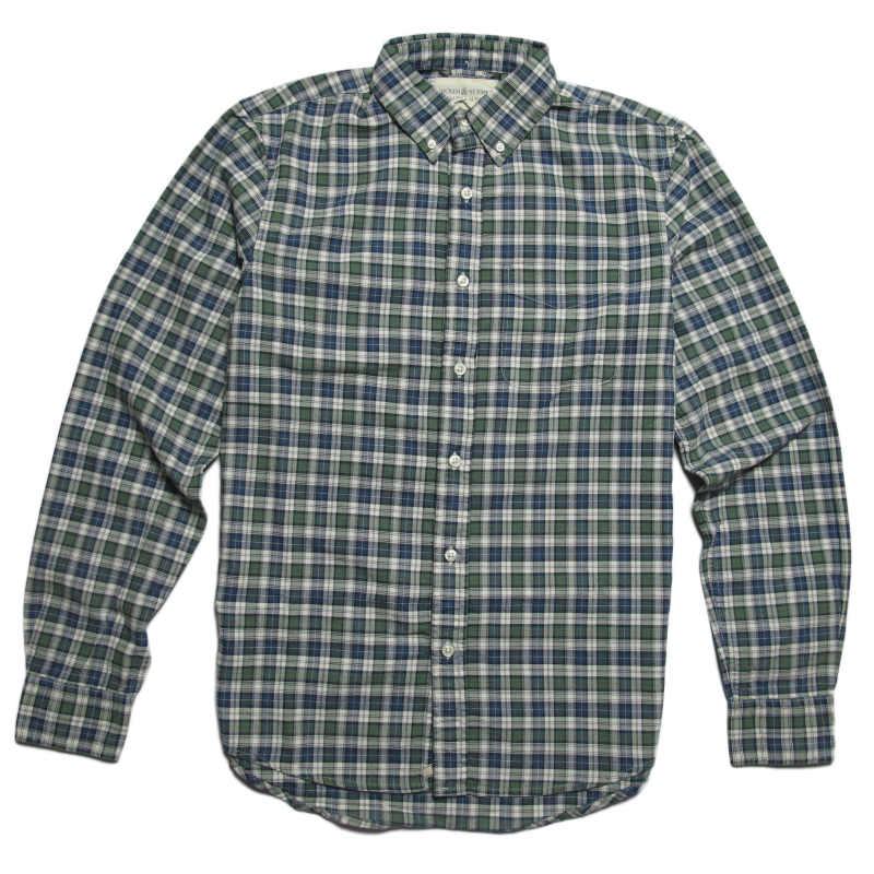 (デニム&サプライ ラルフローレン)Denim&Supply Ralph Lauren 長袖シャツ Plaid Cotton Oxford Shirt チェック Rogers Plaid