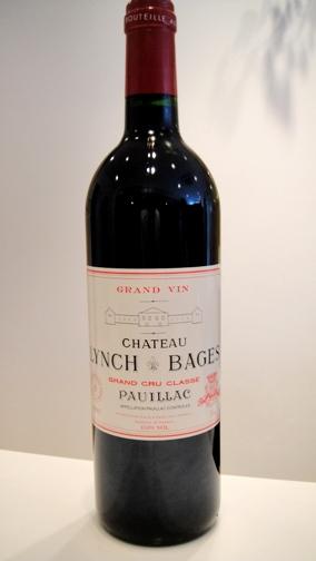 シャトー ランシュ・バージュ 1995【A.C. ポイヤック】Ch. Lynch Bages 1995【A.C. Pauillac】