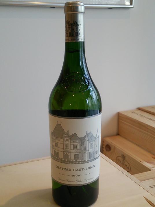 シャトー・オー・ブリオン・ブラン 2009【A.C.ペサック・レオニャン】Ch.Haut Brion Blanc 2009【A.C. Pessac Leognan】