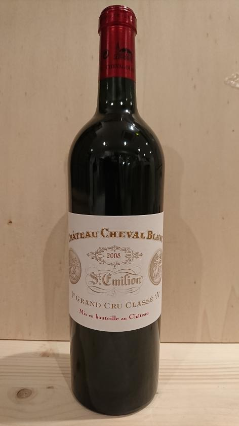シャトー・シュヴァル・ブラン 2008【A.C.サンテミリオン】Ch.Cheval Blanc 2008【A.C.St. Emilion】再入荷