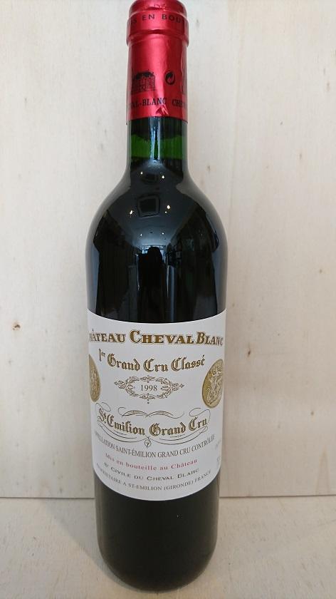 シャトー・シュヴァル・ブラン 1998【A.C.サンテミリオン】Ch.Cheval Blanc 1998【A.C.St. Emilion】再入荷