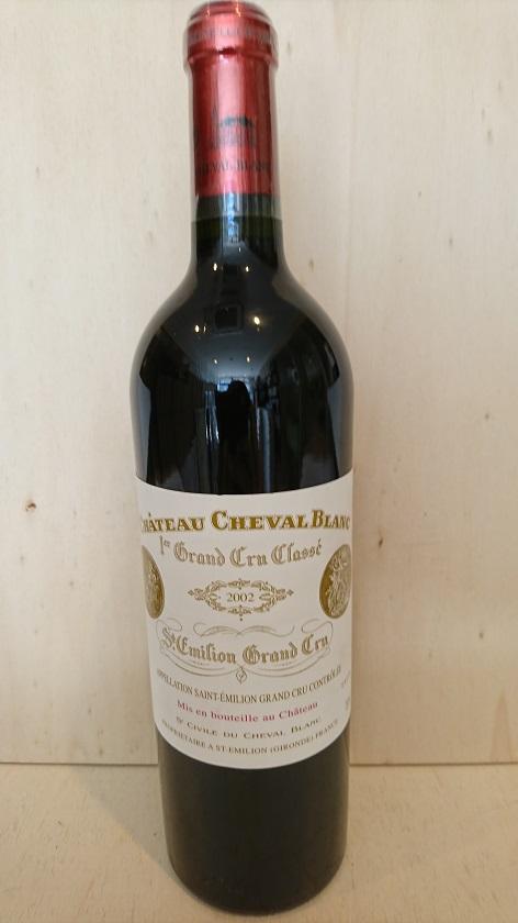 シャトー・シュヴァル・ブラン 2002【A.C.サンテミリオン】Ch.Cheval Blanc 2002【A.C.St. Emilion】新入荷