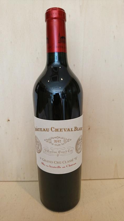 シャトー・シュヴァル・ブラン 2012【A.C.サンテミリオン】Ch.Cheval Blanc 2012【A.C.St. Emilion】新入荷!
