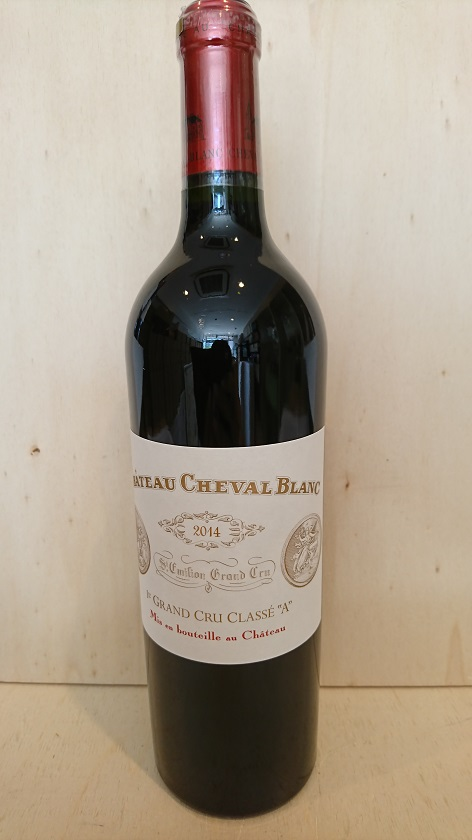 シャトー・シュヴァル・ブラン 2014【A.C.サンテミリオン】Ch.Cheval Blanc 2014【A.C.St. Emilion】新入荷!