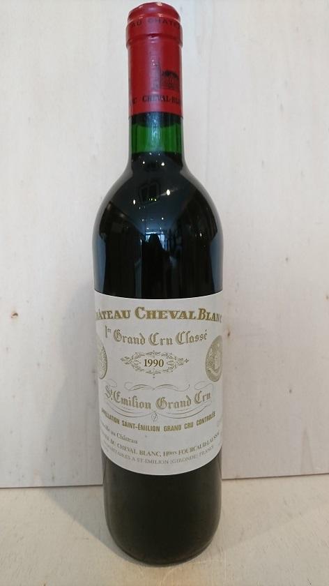 シャトー・シュヴァル・ブラン 1990【A.C.サンテミリオン】Ch.Cheval Blanc 1990【A.C.St. Emilion】
