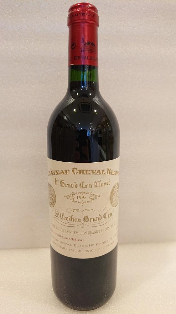 シャトー・シュヴァル・ブラン 1995【A.C.サンテミリオン】Ch.Cheval Blanc 1995【A.C.St. Emilion】