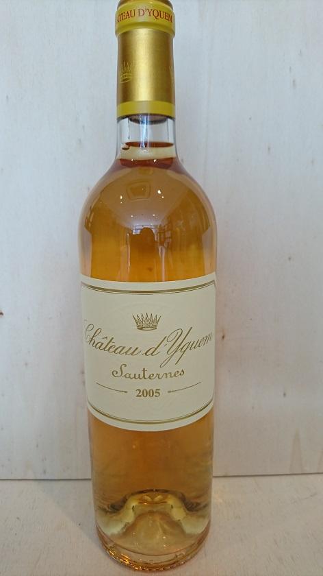 シャトー・ディケム 2005【A.C.ソーテルヌ】Ch.d'Yquem 2005【A.C.Sauternes】新入荷!