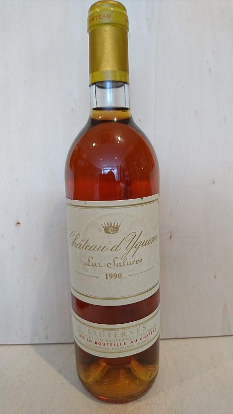 シャトー・ディケム 1990【A.C.ソーテルヌ】Ch.d'Yquem 1990【A.C.Sauternes】再入荷