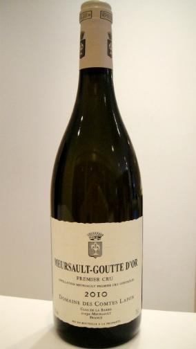 ムルソー グット・ドール 2011コント・ラフォンMeursault Goutte d'Or 2011Comtes Lafon