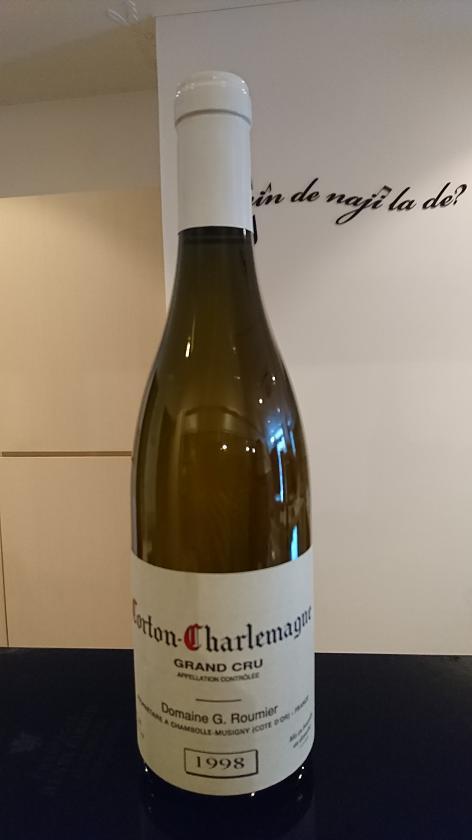 コルトン・シャルルマーニュ 1998ジョルジュ・ルーミエCorton Charlemagne 1998Georges Roumier