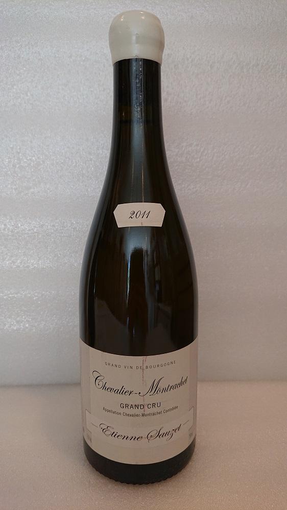 シュヴァリエ・モンラッシェ 2011エティエンヌ・ソゼChevalier Montrachet 2011Etienne Sauzet新入荷ラベルに小さな擦り傷あり