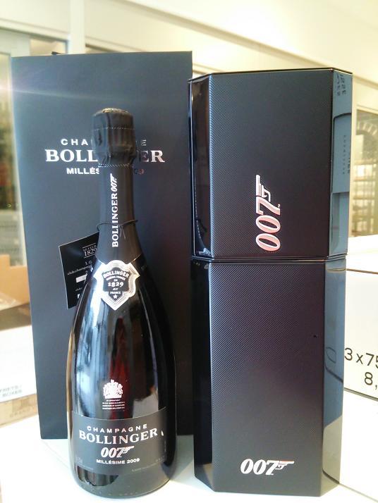 007 スペクター リミテッド・エディション 2009ボランジェ007 Spectre Limited Edition 2009Bollinger値下げしました!送料無料