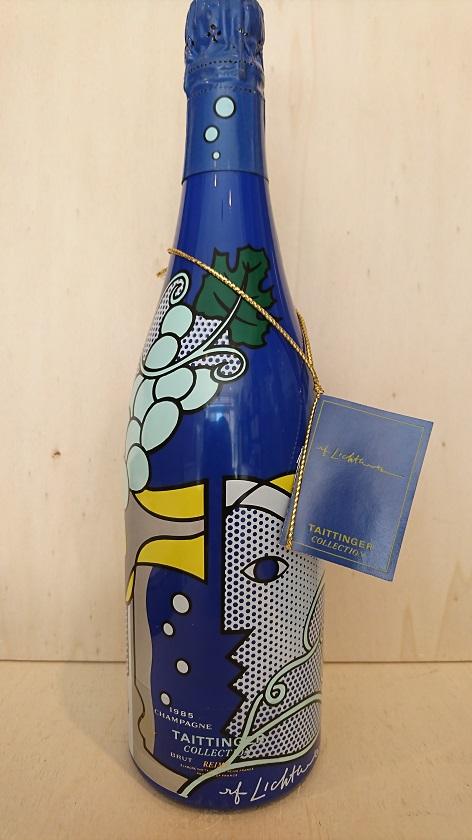 アーティスト・コレクション・ロイ・リキテンスタイン 1985テタンジェArtist Collection Roy Lichtenstein 1985Taittinger箱無し 再入荷
