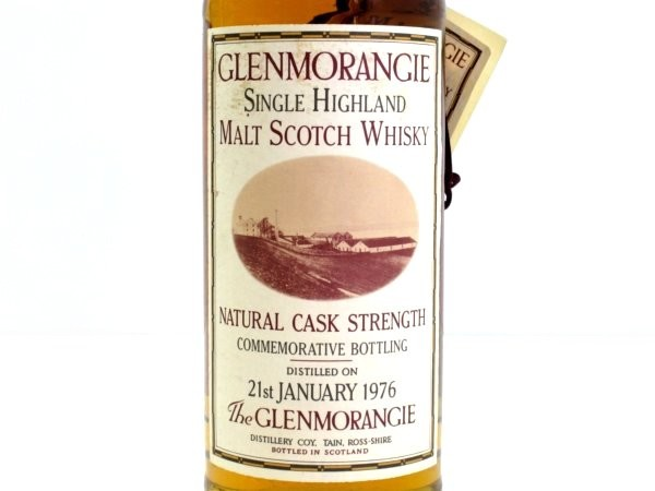 ! 1000 Book limited Glenmorangie 1976 Concorde Kusu 21 th 750ml/59.2 level with wooden box