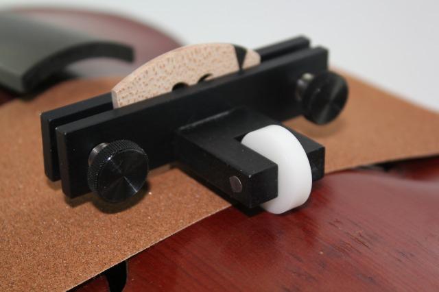 ブリッジ・フィッター 駒足の調整に バイオリン・ビオラ用 米国製JUZEK