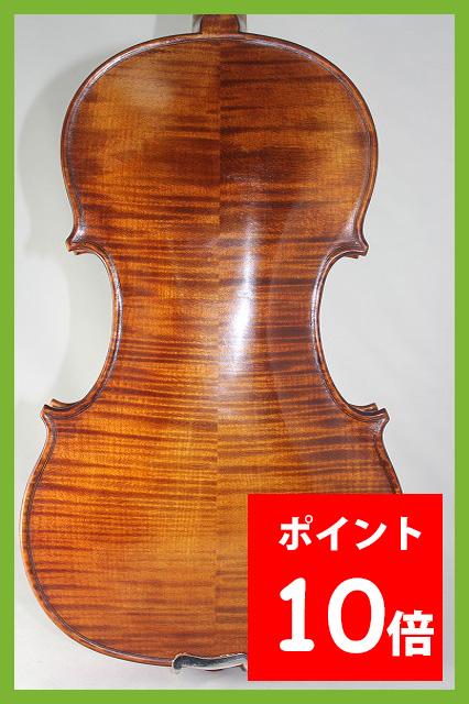 ブルガリア製バイオリン 4/4 Boris Ushev 2010 柘植フィッティング