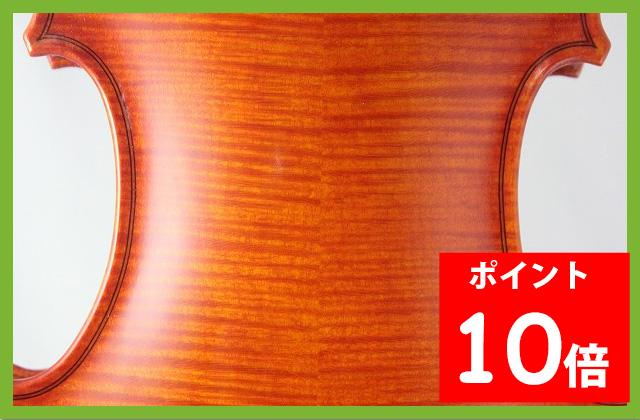 ブルガリア製バイオリン 4/4 Krasimir Simov 2010 黒檀フィッティング
