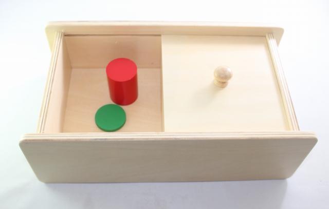 モンテッソーリ コインおとし Montessori Coin Box