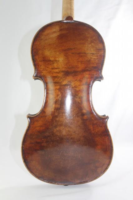 英国製 Hill バイオリン Made & Sold by Jos.Hill ワンピース・バック