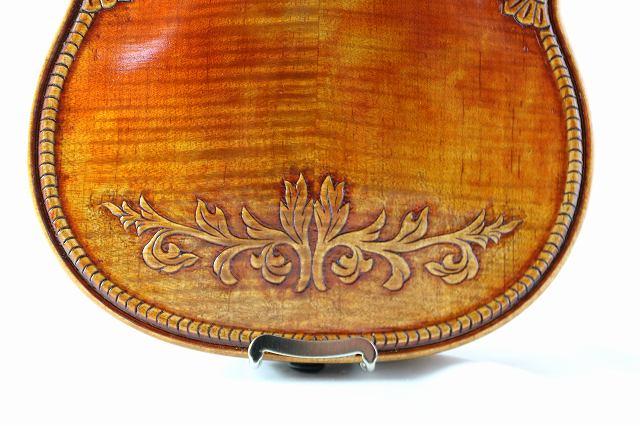 英国王室紋様 ♪オールド仕上げ♪ バイオリン 4/4 Royal English ストラディバリ