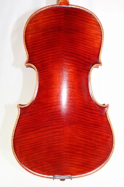 16インチ ヴィオラ ♪マスターレベル♪ 405mm 赤ビオラ ストラド・モデル 50年物スプルース材