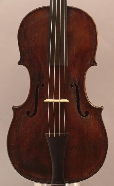 バロック・バイオリン Paulus Alletfee 1703ラベル