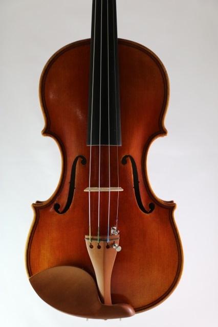 マッジーニ・モデル・バイオリン ♪一枚裏板♪ダブル・パフリング Giovanni Paolo Maggini