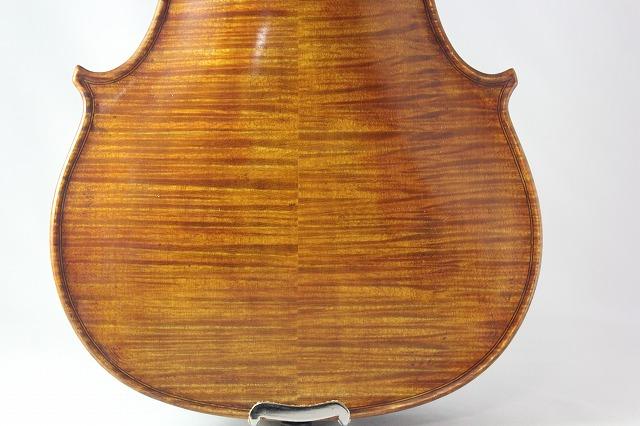 ブルガリア製バイオリン 4/4 Boris Ushev 2008 黒檀フィッティング
