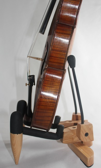 折りたたみ式 バイオリン・ビオラ用スタンド