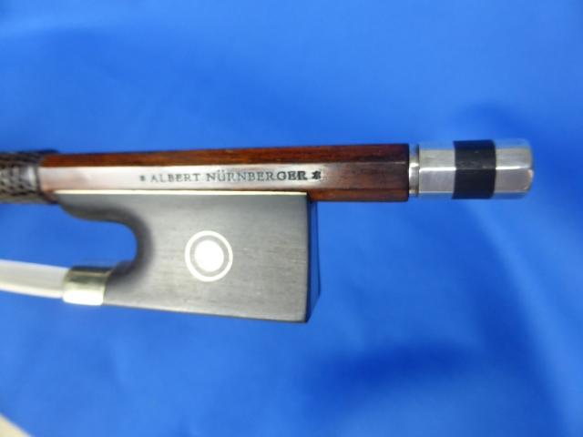 ドイツ製 アルベルト・ニュルンベルガー スタンプ バイオリン弓