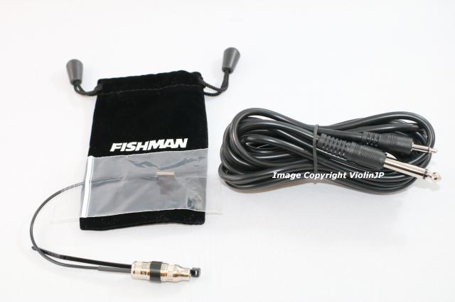 ピックアップ Fishman V-100 バイオリン・ビオラ用マイク