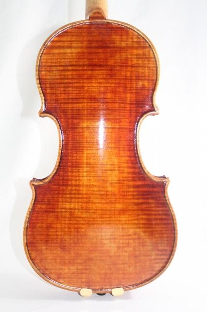 欧州産木材使用 マスター・バイオリン イタリアン・ニス  ストラディバリ・モデル 4/4 ♪ワンピースバック♪