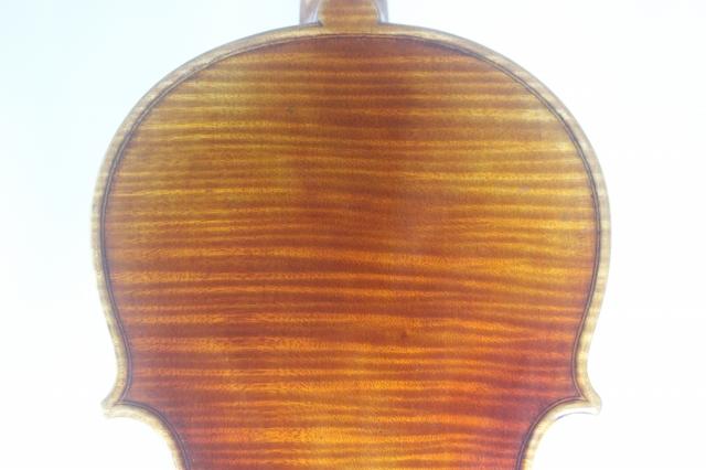ロシアンスタイル ♪マスター・レベル♪ ワンピース・バック ストラド 4/4バイオリン ロシア人製作者