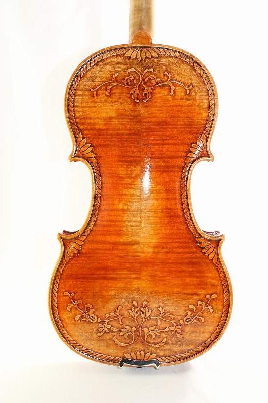 装飾バイオリン 4/4 ♪オールド仕上げ♪ ストラディバリ Crafted Violin