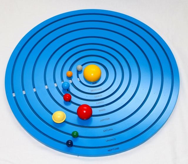 モンテッソーリ 太陽系 Montessori Solar System 知育玩具