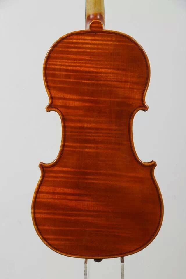 Federico Fiora 2014 Cremona フェデリーコ・フィオラ  『Stradivari 1715 il Cremonese モデル、ワンピース・バック』 クレモナ