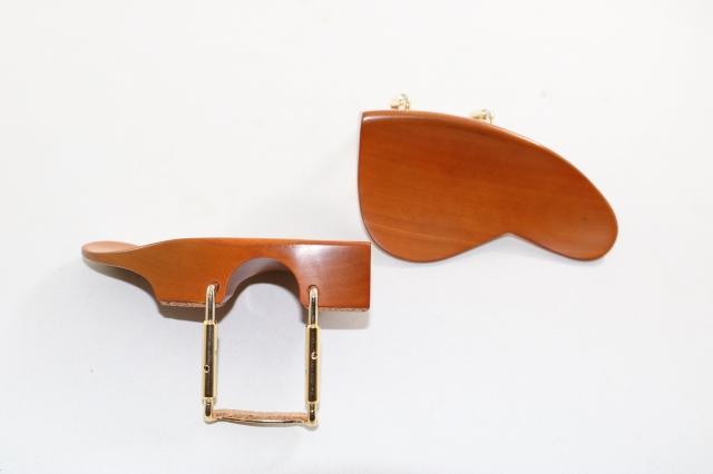 ビオラ用 評価 即出荷 柘植あご当て ヴィオラ用 通常ゴールド金具 Ohrenform型