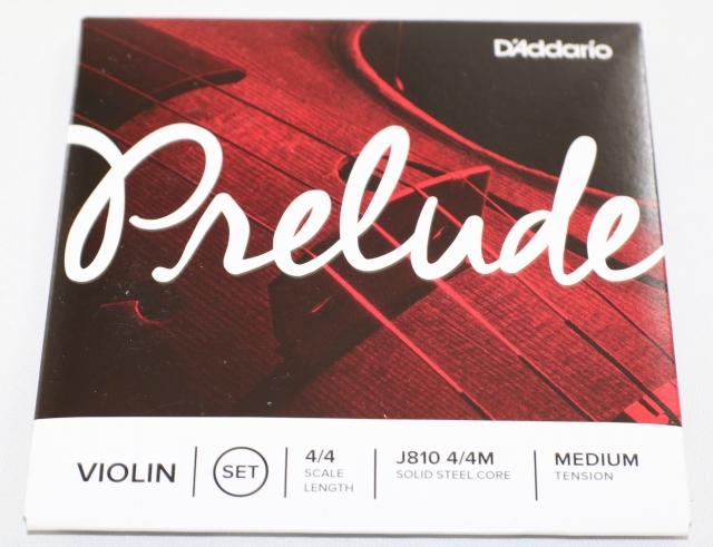 4弦セット バイオリン弦 プレリュード Prelude A E 希少 G D 日本正規品