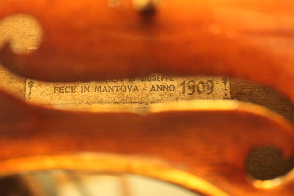 イタリアン・ヴァイオリン Stefano Scarampella, 1909
