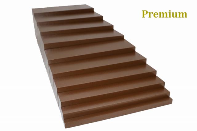 【プレミアム・ライン】モンテッソーリ 茶色い階段  Montessori Brown Stairs 知育玩具