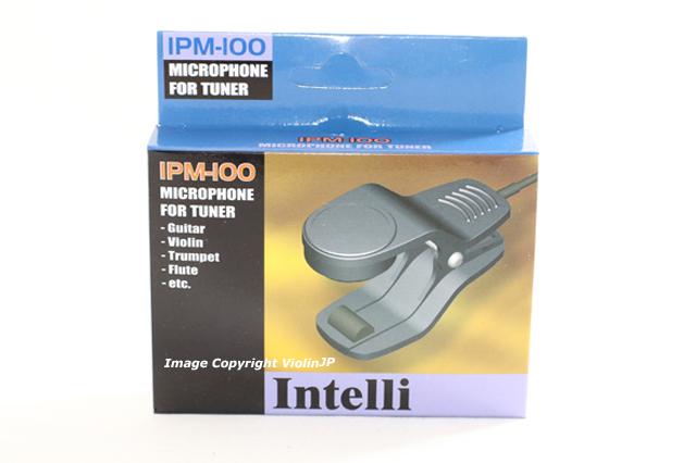 流行のアイテム Intelli IPM-100 チューナー用 クリップ式マイク 新作 大人気
