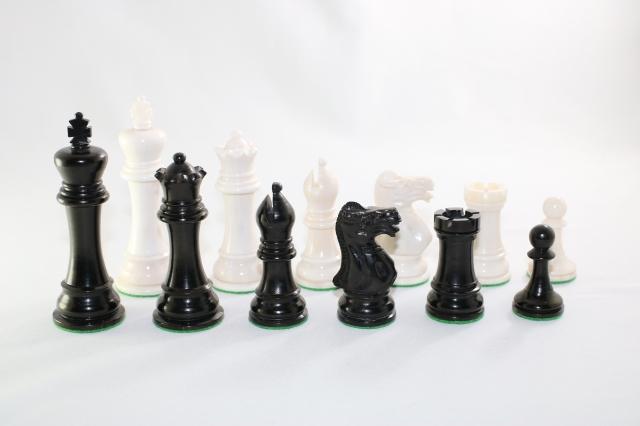 ♪キャメル・ボーン・スタントン♪ チェス駒セット キング4インチ ハンドメイド高級