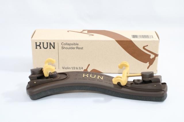 好評 分数用 クン コラプシブル 3 4-1 Collapsible 分数バイオリン用 Kun 肩あて 2サイズ 格安激安