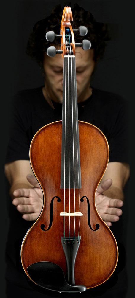 Vi-Vi Electro Acoustic Violin エレクトロ・アコースティック バイオリン エレキバイオリン