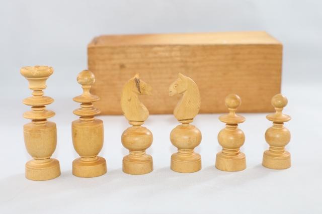 ヴィンテージ・チェス ♪レジェンス Regence♪ 英国1900年代初頭