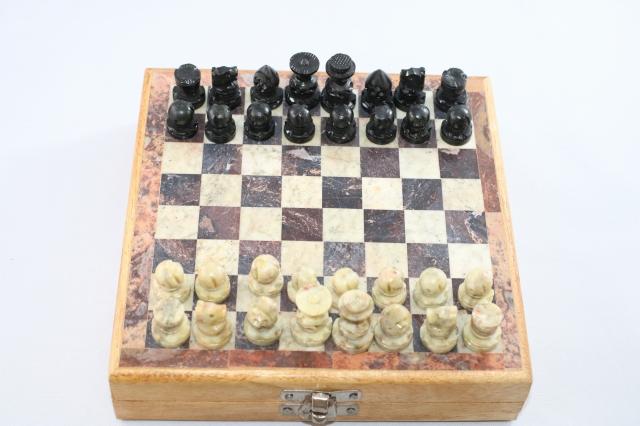 ヴィンテージ・チェス ♪ソープストーン♪ 米国