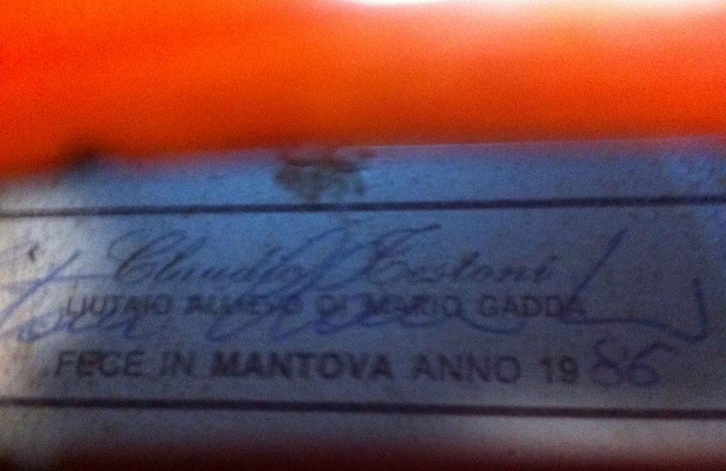 ヴィオラ Claudio Testoni テストーニ ボディ405ミリ マントヴァ1986